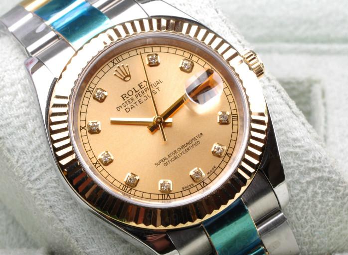 劳力士手表的表壳